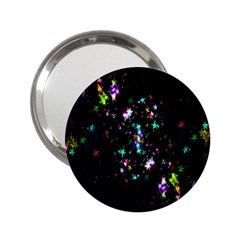 Star Structure Many Repetition 2 25  Handbag Mirrors