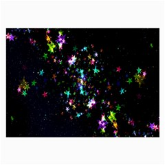 Star Structure Many Repetition Large Glasses Cloth