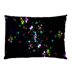 Star Structure Many Repetition Pillow Case