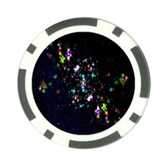 Star Structure Many Repetition Poker Chip Card Guard (10 Pack)