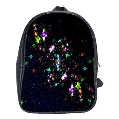 Star Structure Many Repetition School Bags(large)