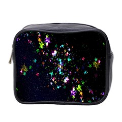 Star Structure Many Repetition Mini Toiletries Bag 2 Side