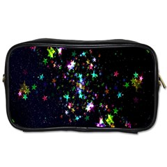 Star Structure Many Repetition Toiletries Bags 2 Side