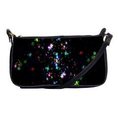 Star Structure Many Repetition Shoulder Clutch Bags