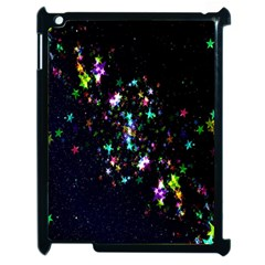 Star Structure Many Repetition Apple Ipad 2 Case (black)