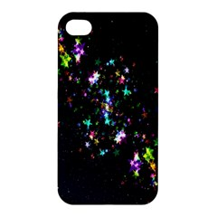 Star Structure Many Repetition Apple Iphone 4/4s Premium Hardshell Case