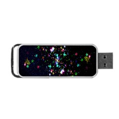 Star Structure Many Repetition Portable Usb Flash (one Side)
