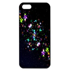 Star Structure Many Repetition Apple Iphone 5 Seamless Case (black)