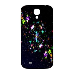 Star Structure Many Repetition Samsung Galaxy S4 I9500/i9505  Hardshell Back Case