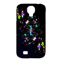 Star Structure Many Repetition Samsung Galaxy S4 Classic Hardshell Case (PC+Silicone)