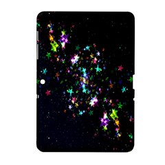 Star Structure Many Repetition Samsung Galaxy Tab 2 (10 1 ) P5100 Hardshell Case