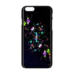 Star Structure Many Repetition Apple Iphone 6/6s Black Enamel Case