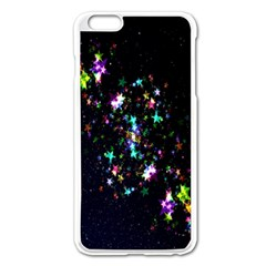 Star Structure Many Repetition Apple Iphone 6 Plus/6s Plus Enamel White Case