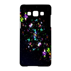 Star Structure Many Repetition Samsung Galaxy A5 Hardshell Case