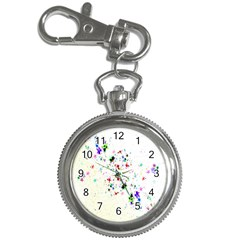 Star Structure Many Repetition Key Chain Watches