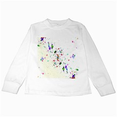 Star Structure Many Repetition Kids Long Sleeve T Shirts