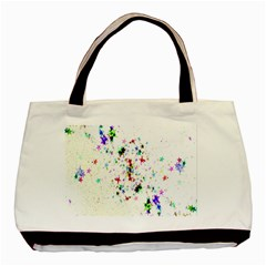 Star Structure Many Repetition Basic Tote Bag