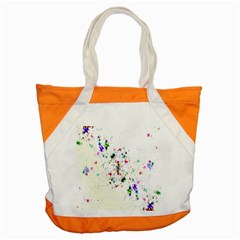 Star Structure Many Repetition Accent Tote Bag