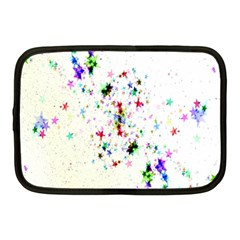 Star Structure Many Repetition Netbook Case (medium)