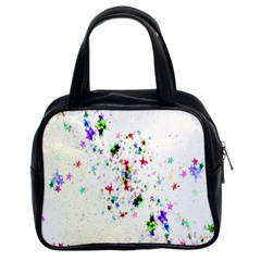 Star Structure Many Repetition Classic Handbags (2 Sides)
