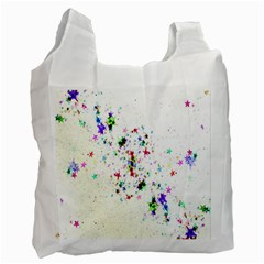 Star Structure Many Repetition Recycle Bag (one Side)