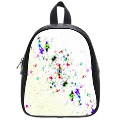 Star Structure Many Repetition School Bags (small)