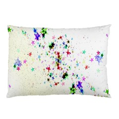 Star Structure Many Repetition Pillow Case (two Sides)