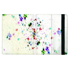Star Structure Many Repetition Apple iPad 3/4 Flip Case