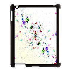 Star Structure Many Repetition Apple Ipad 3/4 Case (black)