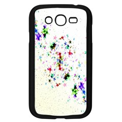 Star Structure Many Repetition Samsung Galaxy Grand Duos I9082 Case (black)