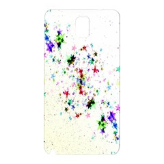 Star Structure Many Repetition Samsung Galaxy Note 3 N9005 Hardshell Back Case