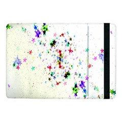 Star Structure Many Repetition Samsung Galaxy Tab Pro 10 1  Flip Case