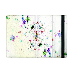 Star Structure Many Repetition Ipad Mini 2 Flip Cases