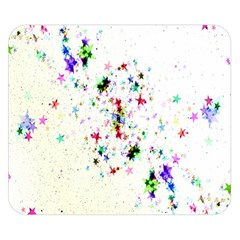 Star Structure Many Repetition Double Sided Flano Blanket (small)