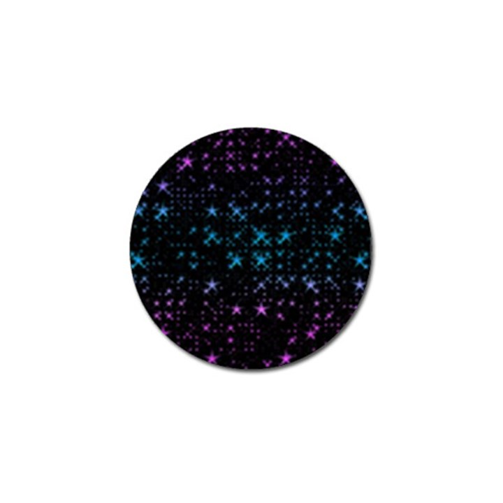 Stars Pattern Seamless Design Golf Ball Marker