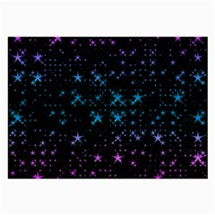 Stars Pattern Seamless Design Large Glasses Cloth