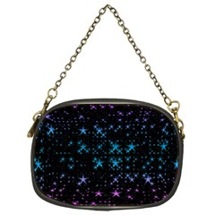 Stars Pattern Seamless Design Chain Purses (one Side)