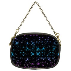 Stars Pattern Seamless Design Chain Purses (two Sides)