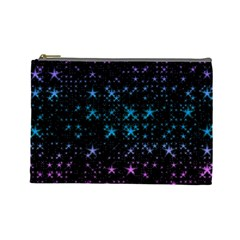 Stars Pattern Seamless Design Cosmetic Bag (large)