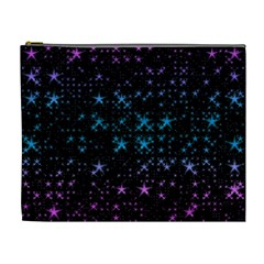 Stars Pattern Seamless Design Cosmetic Bag (xl)