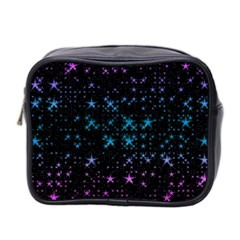 Stars Pattern Seamless Design Mini Toiletries Bag 2 Side