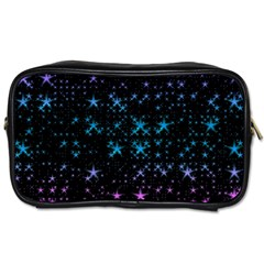 Stars Pattern Seamless Design Toiletries Bags 2 Side