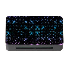 Stars Pattern Seamless Design Memory Card Reader With Cf