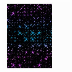 Stars Pattern Seamless Design Small Garden Flag (two Sides)