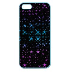 Stars Pattern Seamless Design Apple Seamless Iphone 5 Case (color)