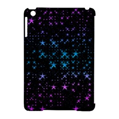 Stars Pattern Seamless Design Apple Ipad Mini Hardshell Case (compatible With Smart Cover)