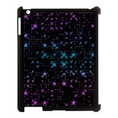Stars Pattern Seamless Design Apple Ipad 3/4 Case (black)