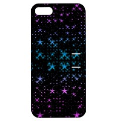 Stars Pattern Seamless Design Apple Iphone 5 Hardshell Case With Stand