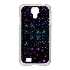 Stars Pattern Seamless Design Samsung Galaxy S4 I9500/ I9505 Case (white)