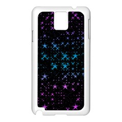 Stars Pattern Seamless Design Samsung Galaxy Note 3 N9005 Case (white)